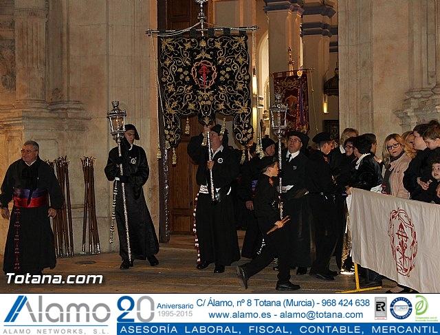 Procesión del Santo Entierro (Salida) - Viernes Santo noche - Semana Santa Totana 2015 - 8