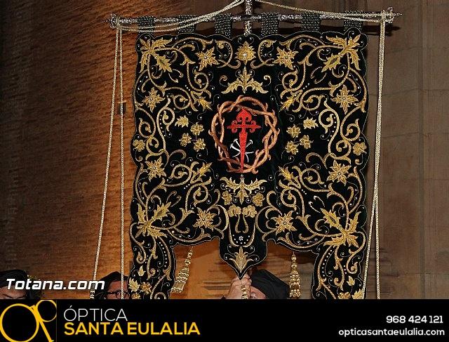 Procesión del Santo Entierro (Salida) - Viernes Santo noche - Semana Santa Totana 2015 - 9