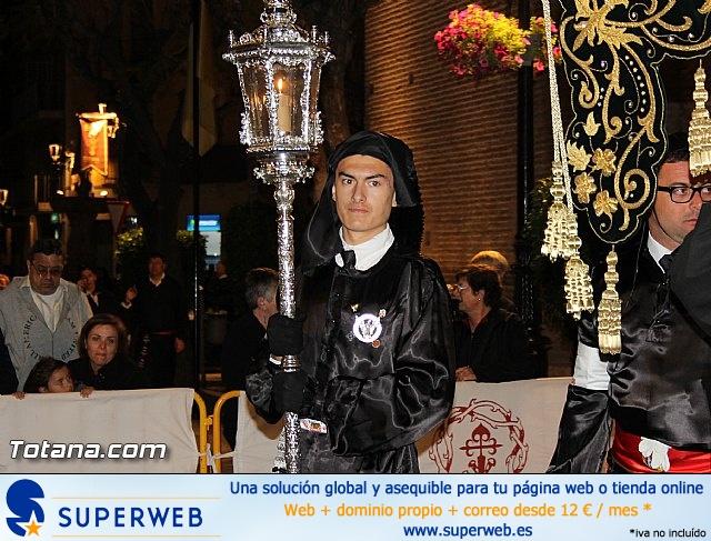 Procesión del Santo Entierro (Salida) - Viernes Santo noche - Semana Santa Totana 2015 - 10