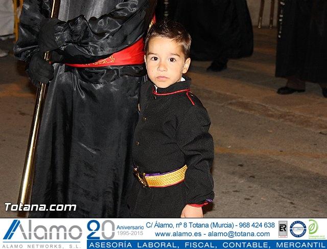 Procesión del Santo Entierro (Salida) - Viernes Santo noche - Semana Santa Totana 2015 - 14