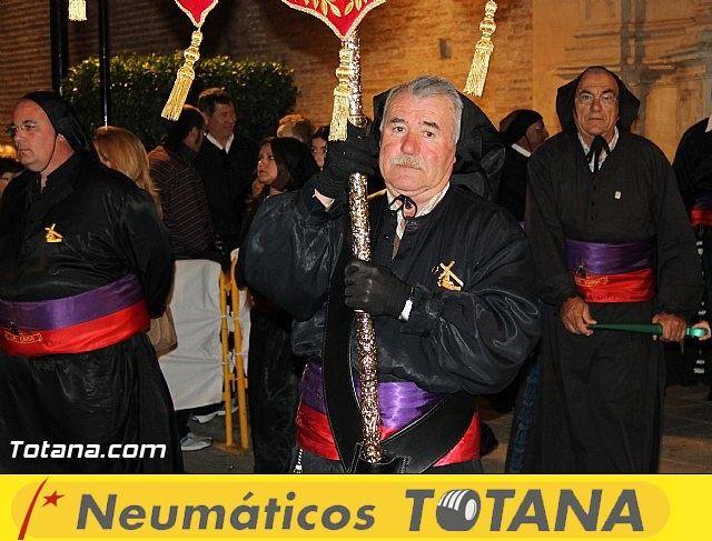 Procesión del Santo Entierro (Salida) - Viernes Santo noche - Semana Santa Totana 2015 - 17