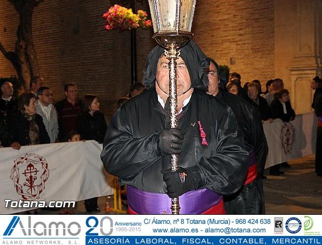 Procesión del Santo Entierro (Salida) - Viernes Santo noche - Semana Santa Totana 2015 - 19