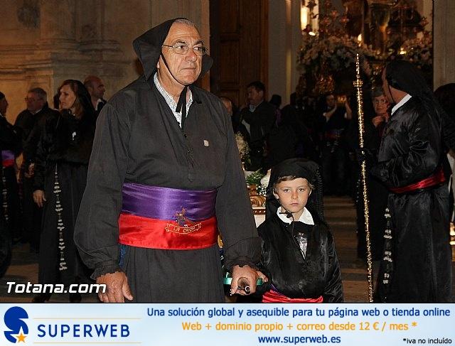 Procesión del Santo Entierro (Salida) - Viernes Santo noche - Semana Santa Totana 2015 - 20