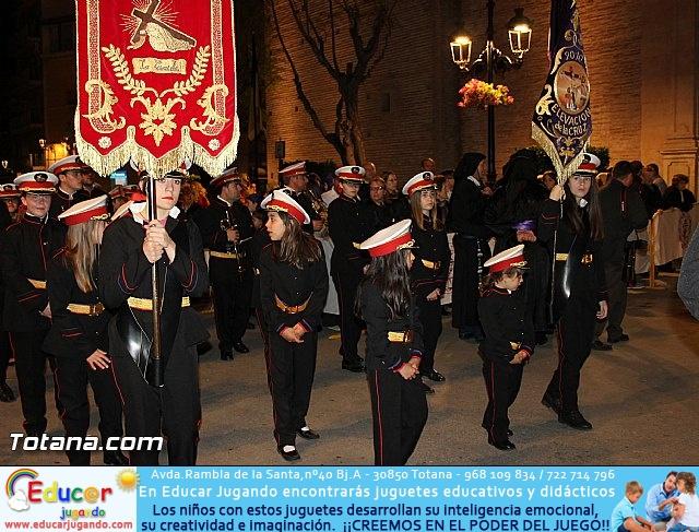Procesión del Santo Entierro (Salida) - Viernes Santo noche - Semana Santa Totana 2015 - 23
