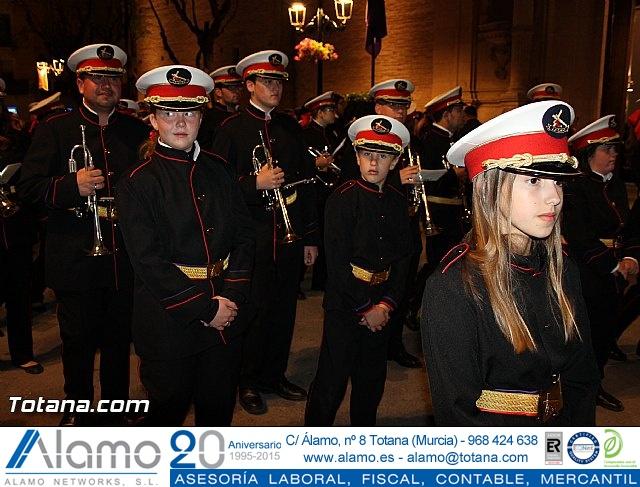 Procesión del Santo Entierro (Salida) - Viernes Santo noche - Semana Santa Totana 2015 - 24