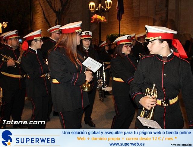 Procesión del Santo Entierro (Salida) - Viernes Santo noche - Semana Santa Totana 2015 - 26