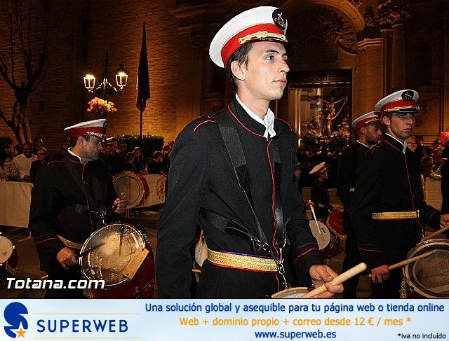 Procesión del Santo Entierro (Salida) - Viernes Santo noche - Semana Santa Totana 2015 - 28