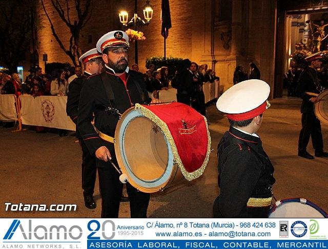 Procesión del Santo Entierro (Salida) - Viernes Santo noche - Semana Santa Totana 2015 - 29