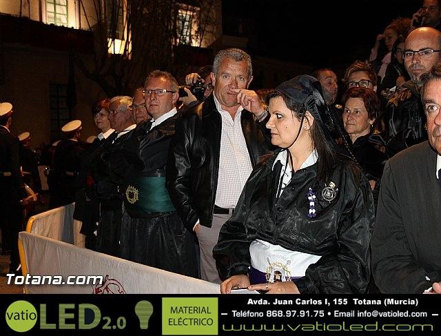 Procesión del Santo Entierro (Salida) - Viernes Santo noche - Semana Santa Totana 2015 - 30