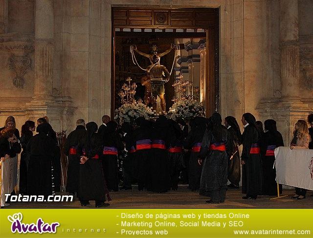 Procesión del Santo Entierro (Salida) - Viernes Santo noche - Semana Santa Totana 2015 - 33