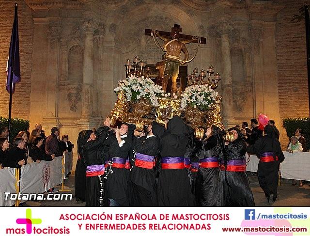Procesión del Santo Entierro (Salida) - Viernes Santo noche - Semana Santa Totana 2015 - 34