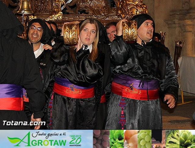 Procesión del Santo Entierro (Salida) - Viernes Santo noche - Semana Santa Totana 2015 - 35