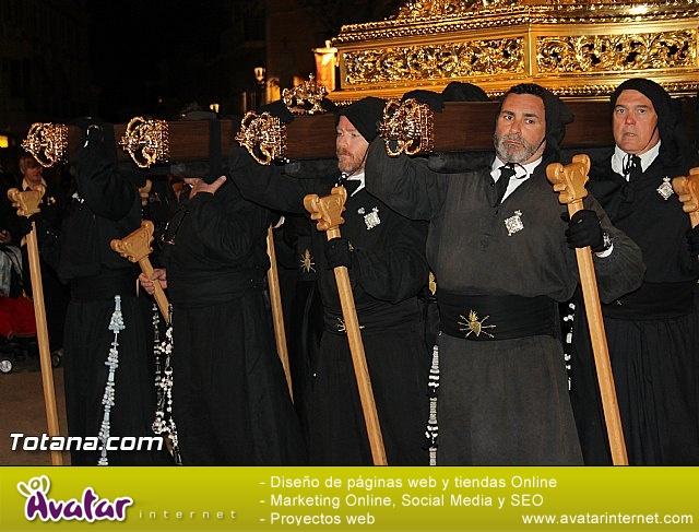 Procesión del Santo Entierro (Salida) - Viernes Santo noche - Semana Santa Totana 2015 - 457