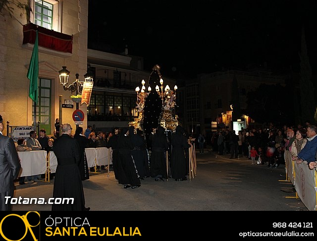 Procesión del Santo Entierro (Salida) - Viernes Santo noche - Semana Santa Totana 2015 - 466