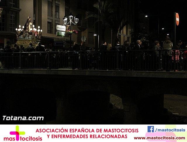 Procesión del Santo Entierro (Recogida) - Viernes Santo noche - Semana Santa Totana 2015 - 1