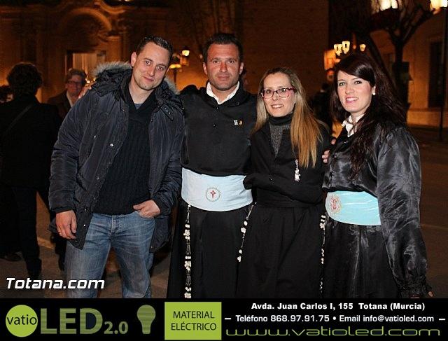 Procesión del Santo Entierro (Recogida) - Viernes Santo noche - Semana Santa Totana 2015 - 4