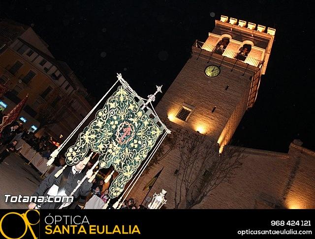 Procesión del Santo Entierro (Recogida) - Viernes Santo noche - Semana Santa Totana 2015 - 6