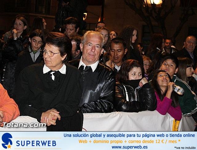 Procesión del Santo Entierro (Recogida) - Viernes Santo noche - Semana Santa Totana 2015 - 9