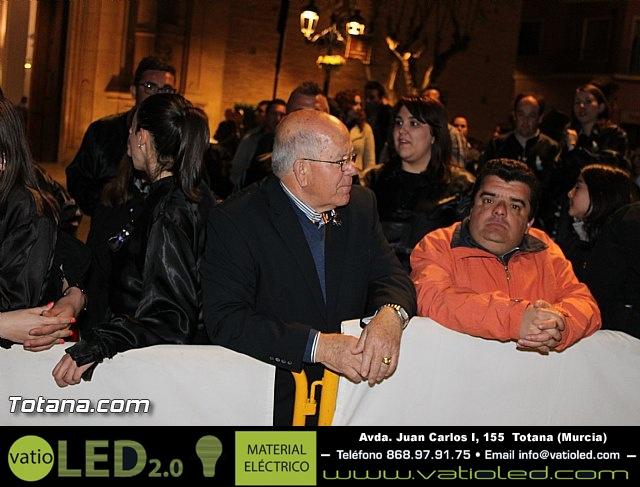 Procesión del Santo Entierro (Recogida) - Viernes Santo noche - Semana Santa Totana 2015 - 10