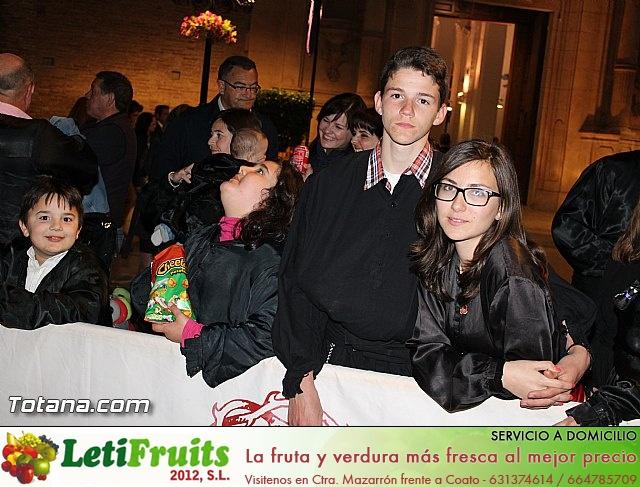 Procesión del Santo Entierro (Recogida) - Viernes Santo noche - Semana Santa Totana 2015 - 11