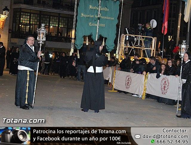 Procesión del Santo Entierro (Recogida) - Viernes Santo noche - Semana Santa Totana 2015 - 18