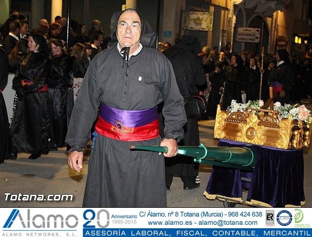 Procesión del Santo Entierro (Recogida) - Viernes Santo noche - Semana Santa Totana 2015 - 19