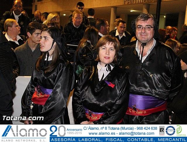 Procesión del Santo Entierro (Recogida) - Viernes Santo noche - Semana Santa Totana 2015 - 25