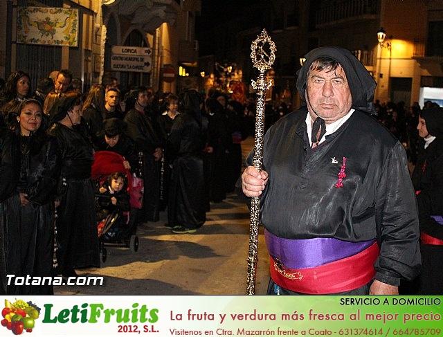 Procesión del Santo Entierro (Recogida) - Viernes Santo noche - Semana Santa Totana 2015 - 26