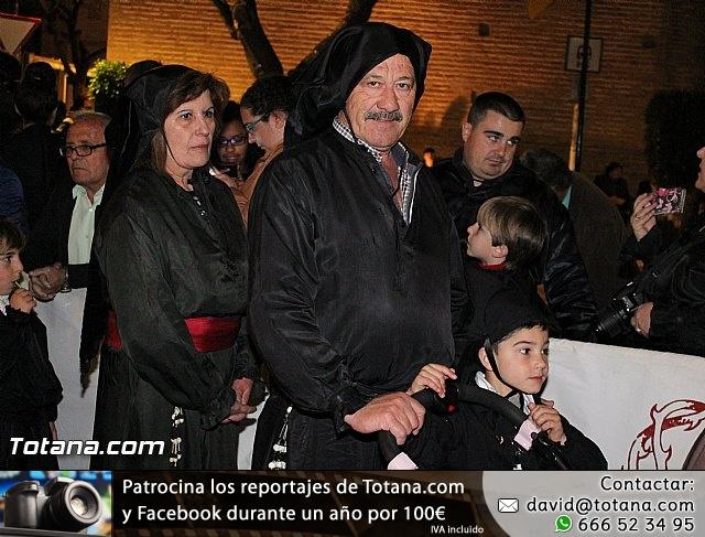 Procesión del Santo Entierro (Recogida) - Viernes Santo noche - Semana Santa Totana 2015 - 27