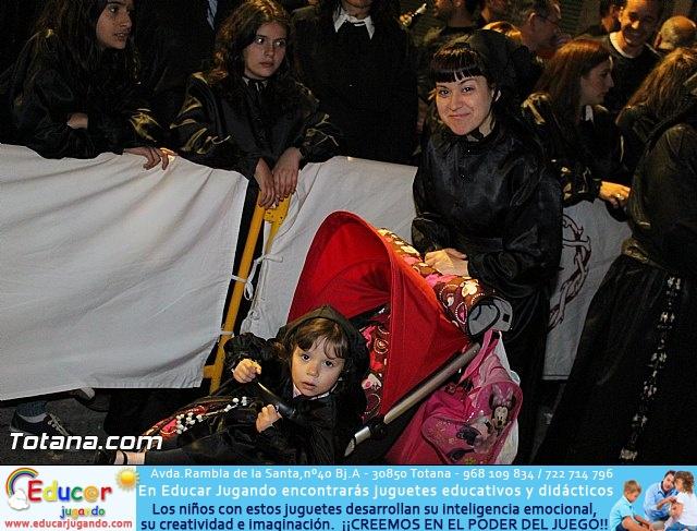 Procesión del Santo Entierro (Recogida) - Viernes Santo noche - Semana Santa Totana 2015 - 31