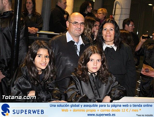 Procesión del Santo Entierro (Recogida) - Viernes Santo noche - Semana Santa Totana 2015 - 33