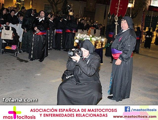 Procesión del Santo Entierro (Recogida) - Viernes Santo noche - Semana Santa Totana 2015 - 35