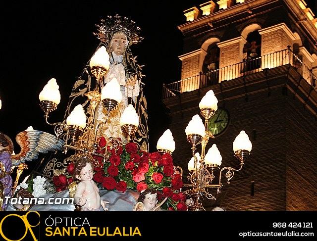 Procesión del Santo Entierro (Recogida) - Viernes Santo noche - Semana Santa Totana 2015 - 736