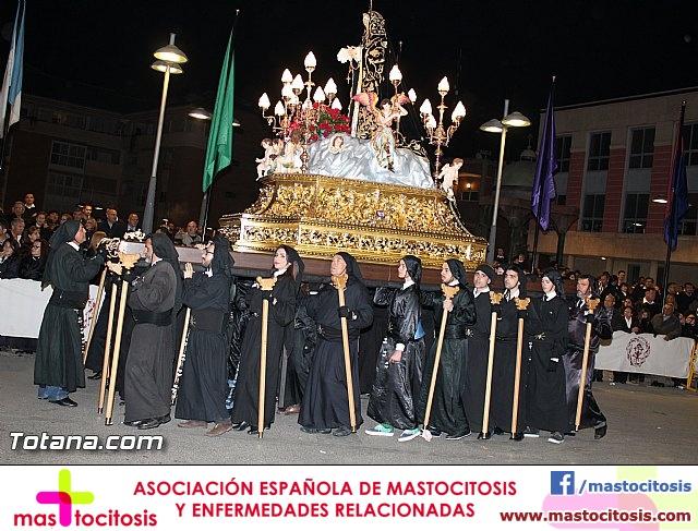 Procesión del Santo Entierro (Recogida) - Viernes Santo noche - Semana Santa Totana 2015 - 737