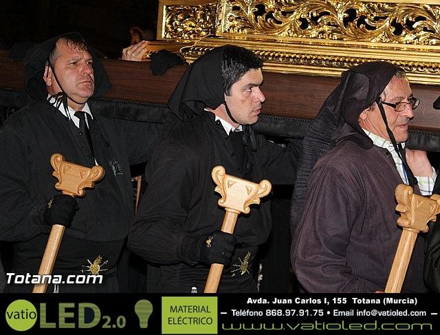 Procesión del Santo Entierro (Recogida) - Viernes Santo noche - Semana Santa Totana 2015 - 744
