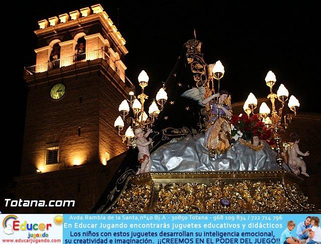 Procesión del Santo Entierro (Recogida) - Viernes Santo noche - Semana Santa Totana 2015 - 746