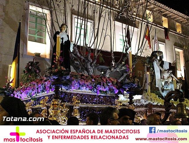 Procesión del Santo Entierro (Recogida) - Viernes Santo noche - Semana Santa Totana 2015 - 759