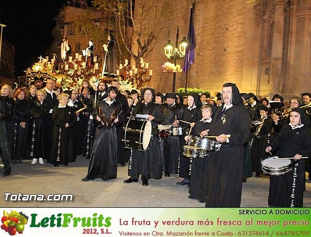 Procesión del Santo Entierro (Recogida) - Viernes Santo noche - Semana Santa Totana 2015 - 761