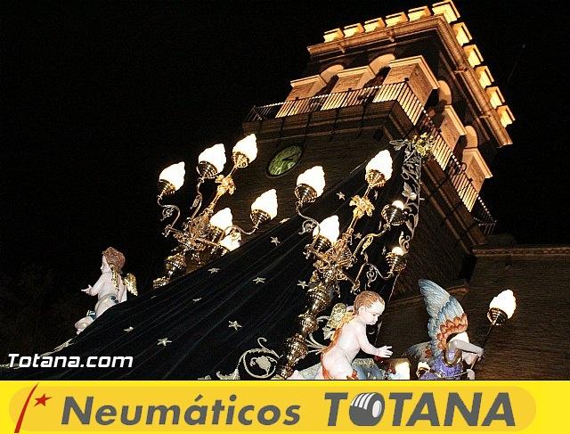 Procesión del Santo Entierro (Recogida) - Viernes Santo noche - Semana Santa Totana 2015 - 763