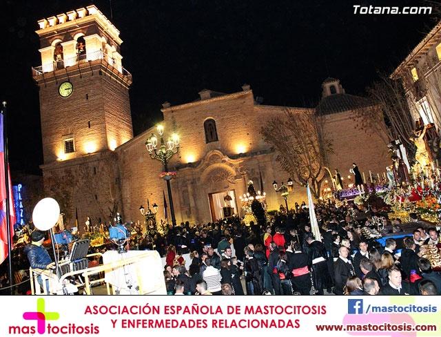 Procesión del Santo Entierro (Recogida) - Viernes Santo noche - Semana Santa Totana 2015 - 767