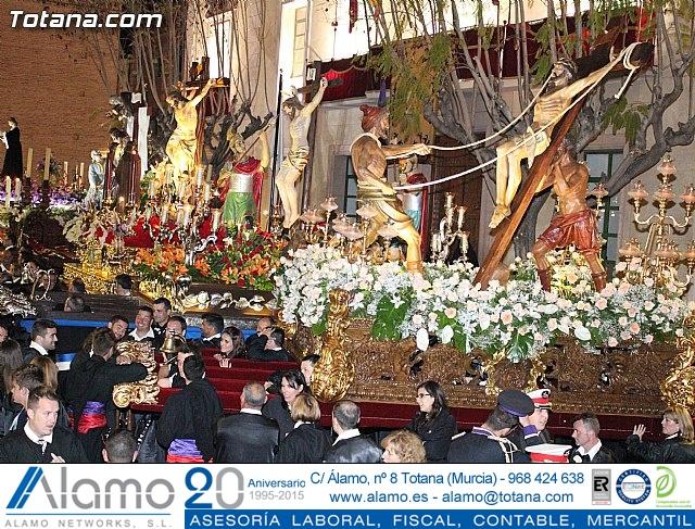Procesión del Santo Entierro (Recogida) - Viernes Santo noche - Semana Santa Totana 2015 - 768