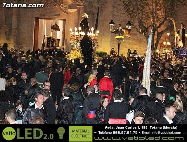 Procesión del Santo Entierro (Recogida) - Viernes Santo noche - Semana Santa Totana 2015 - 769