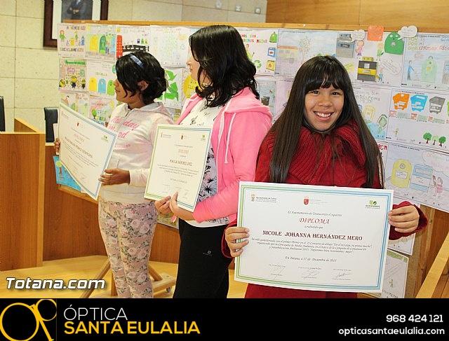 Premios concurso de dibujo
