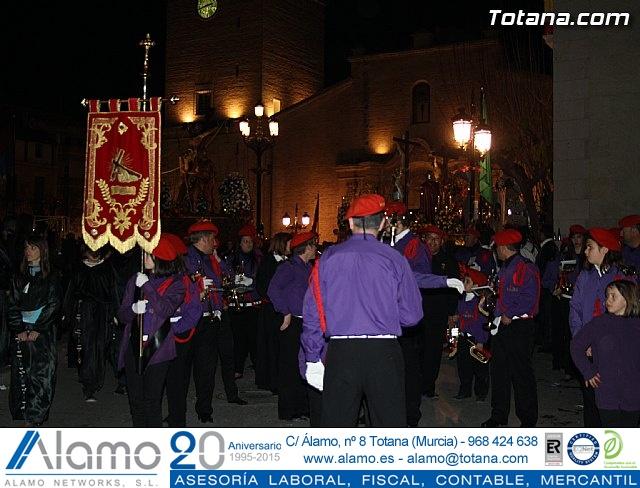 Traslado de los tronos a sus sedes. Viernes Santo 2012 - 3