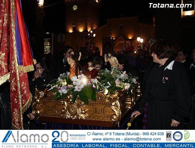 Traslado de los tronos a sus sedes. Viernes Santo 2012 - 4