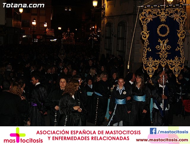 Traslado de los tronos a sus sedes. Viernes Santo 2012 - 35