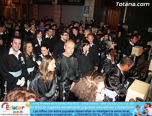 Traslado de los tronos a sus sedes. Viernes Santo 2012 - 42