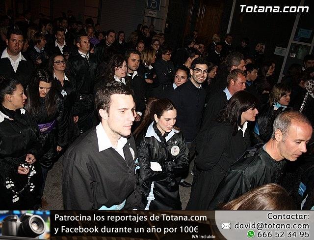 Traslado de los tronos a sus sedes. Viernes Santo 2012 - 43