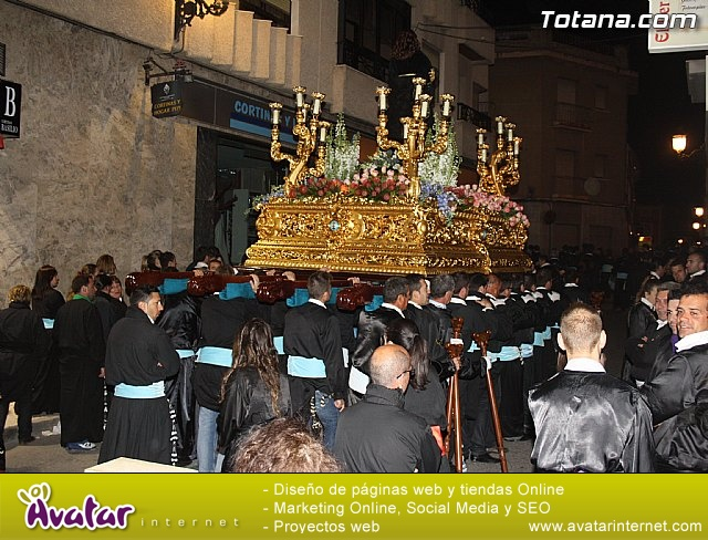 Traslado de los tronos a sus sedes. Viernes Santo 2012 - 44