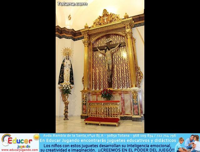 BENDICIÓN DEL NUEVO RETABLO para la imagen del Stmo. Cristo de la Agonía - 3